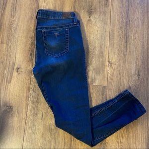 Guess Blue Denim Skinny Jeans